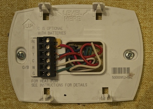 C wire thermostat