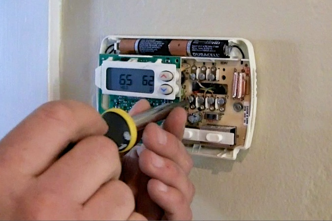 replace home thermostat