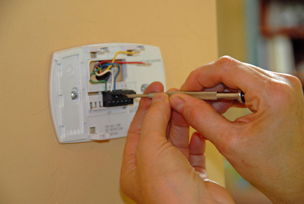 how install thermostat