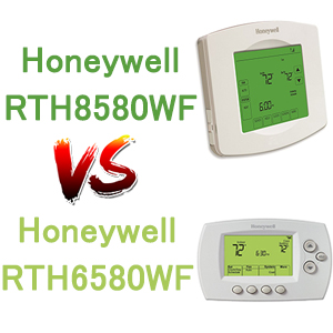 Honeywell-RTH8580WF-vs-RTH6580WF